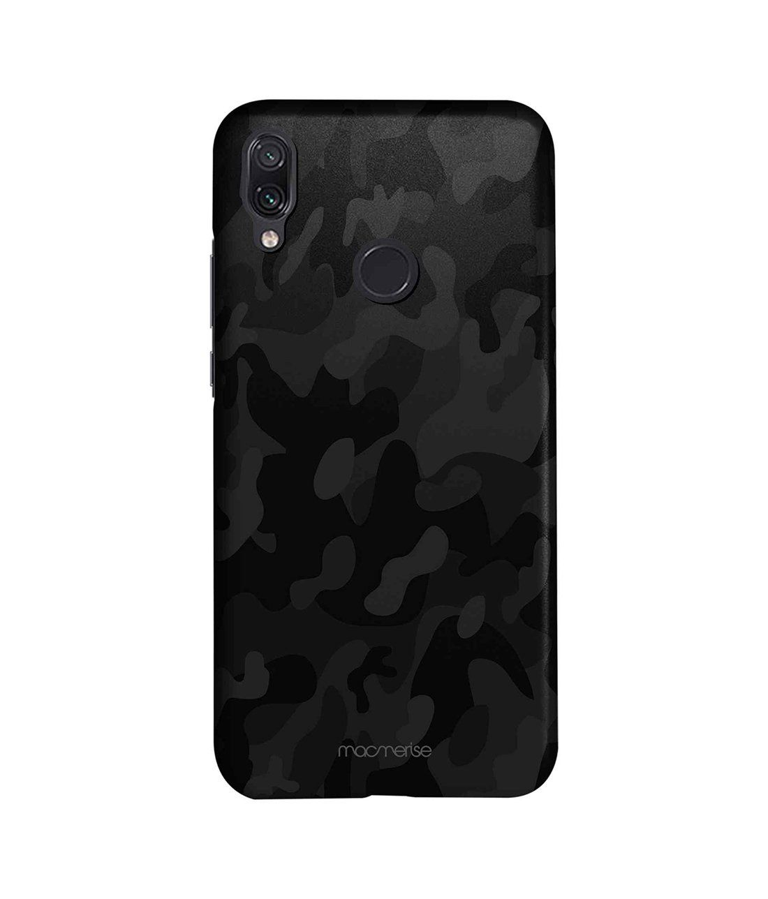 Camo Black - Sleek Phone Case for Xiaomi Redmi Note 7 Pro