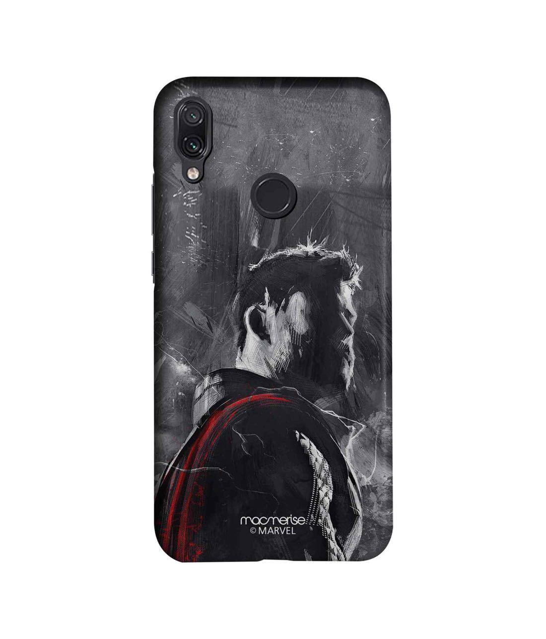 Charcoal Art Thor - Sleek Phone Case for Xiaomi Redmi Note 7 Pro