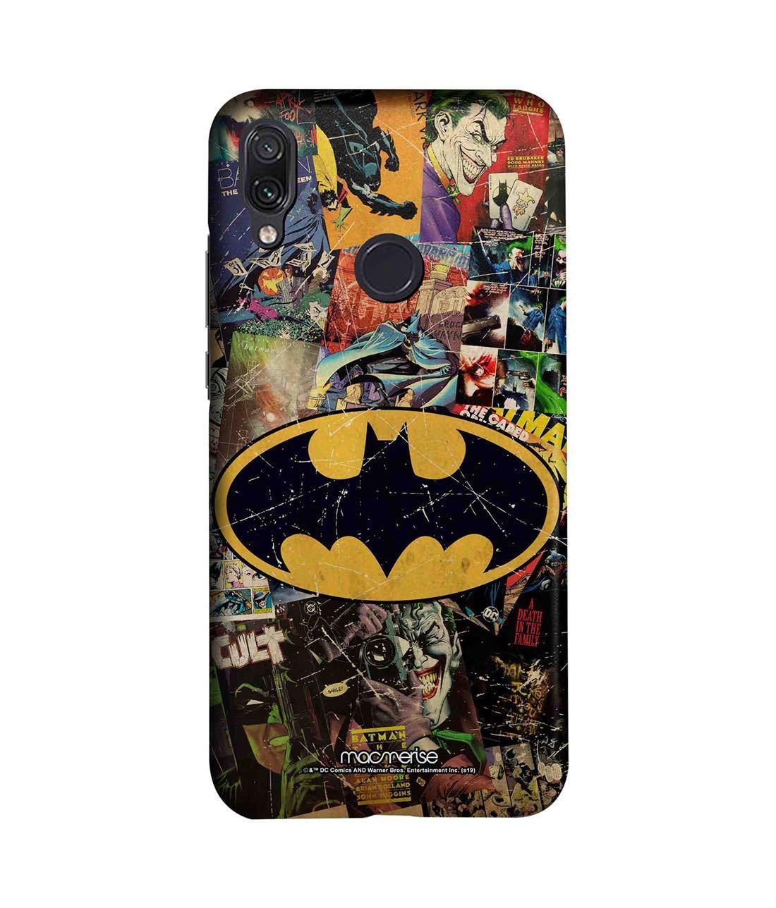 Comic Bat - Sleek Phone Case for Xiaomi Redmi Note 7 Pro
