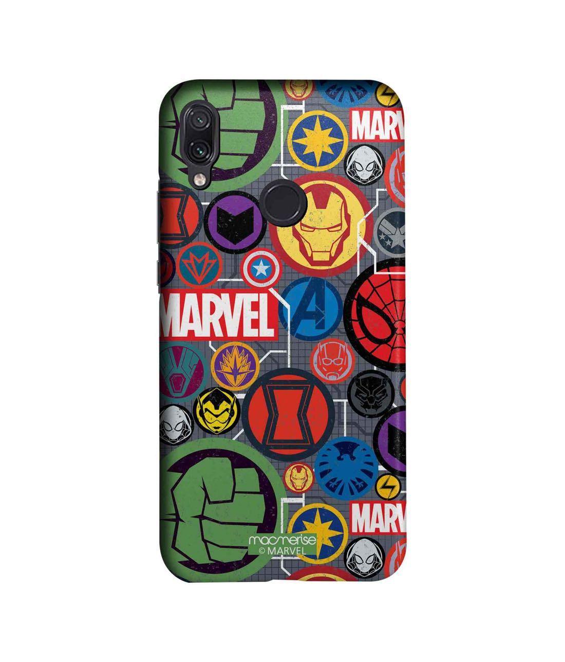 Marvel Iconic Mashup - Sleek Phone Case for Xiaomi Redmi Note 7 Pro