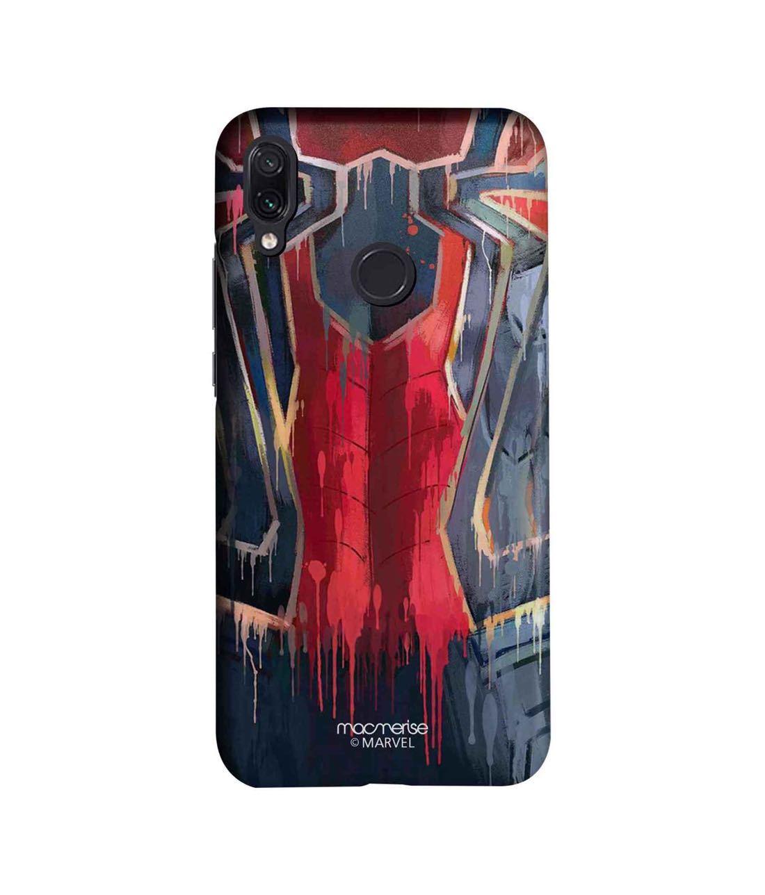 Grunge Suit Spidey - Sleek Phone Case for Xiaomi Redmi Note 7