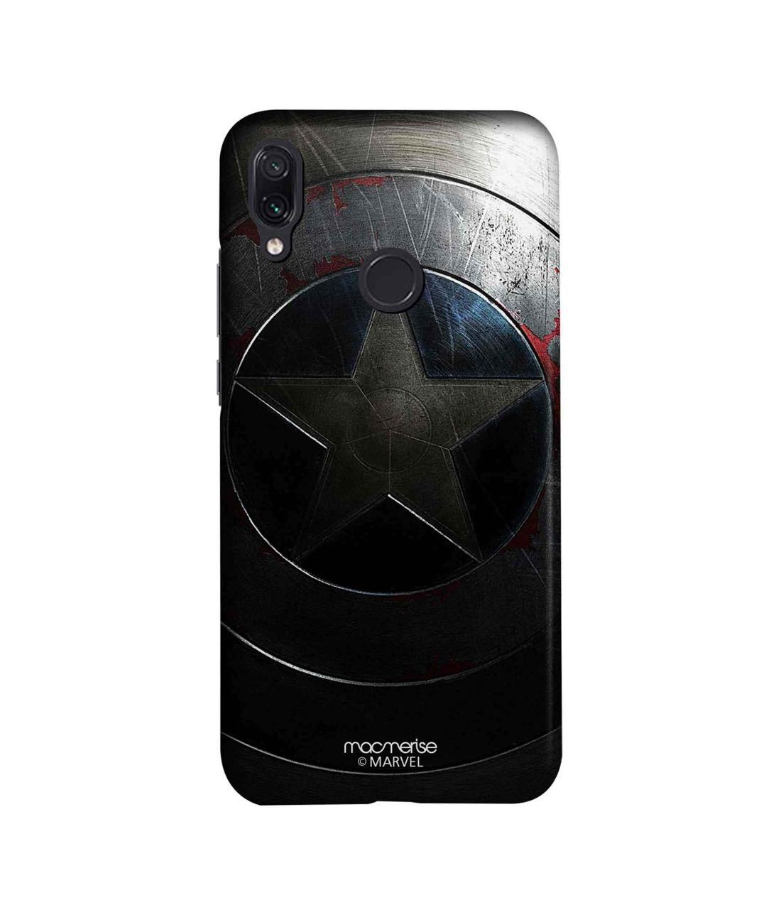 Rusted Captains Shield - Sleek Phone Case for Xiaomi Redmi Note 7