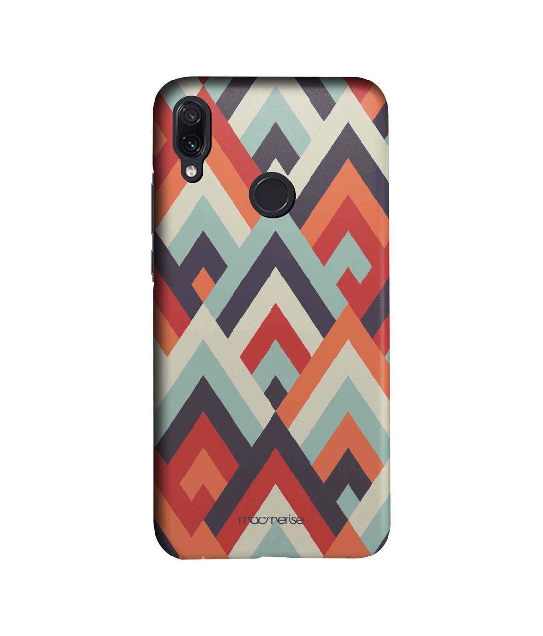 Symmetric Cheveron - Sleek Phone Case for Xiaomi Redmi Note 7