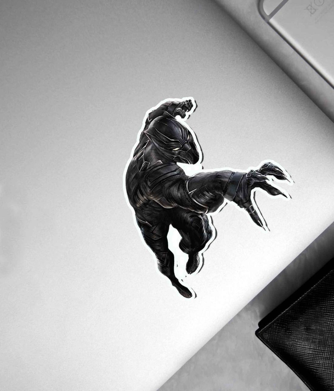 Black Panther Attack - Macmerise Stickon Small