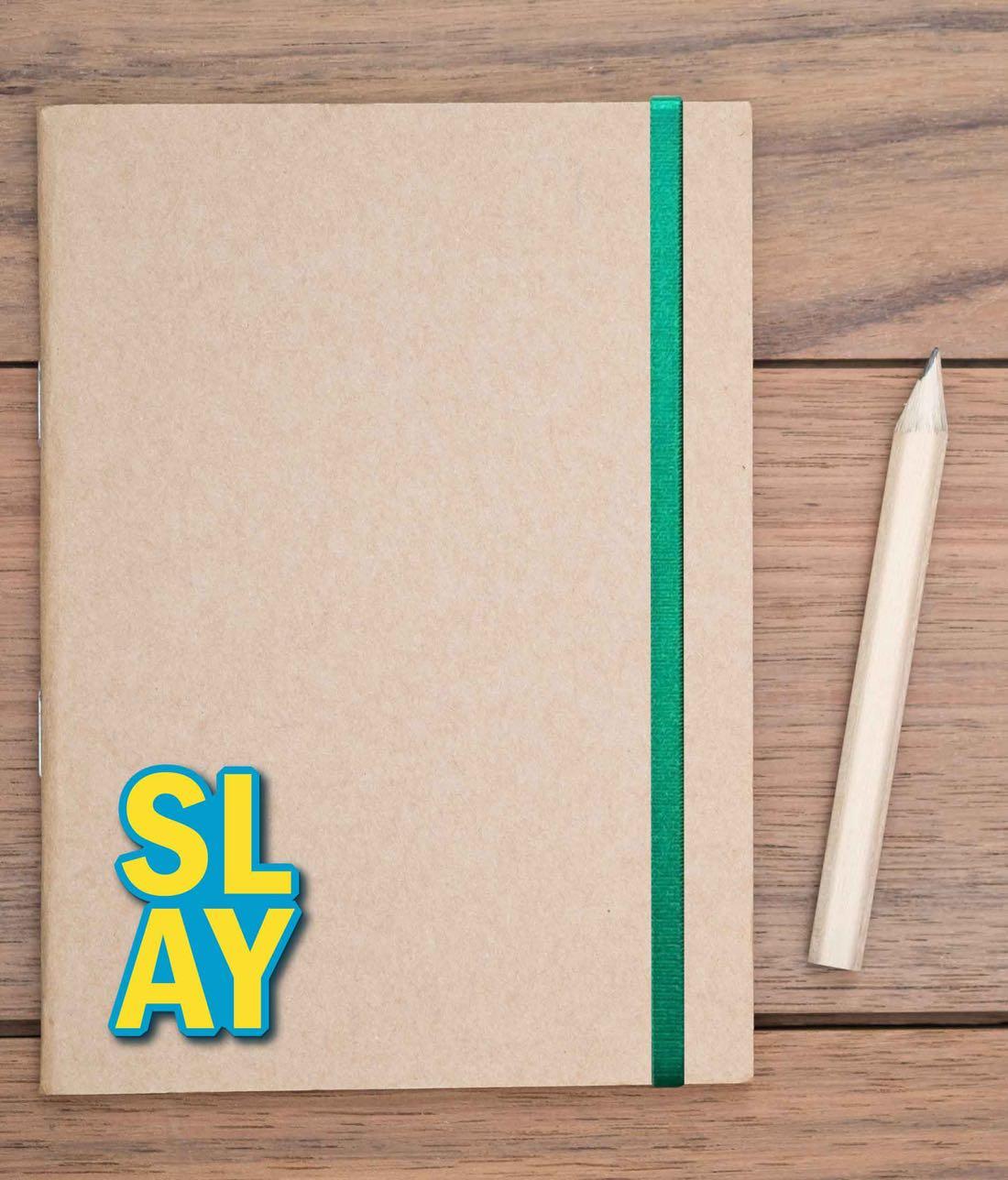 Slay Blue - Macmerise Stickon Small