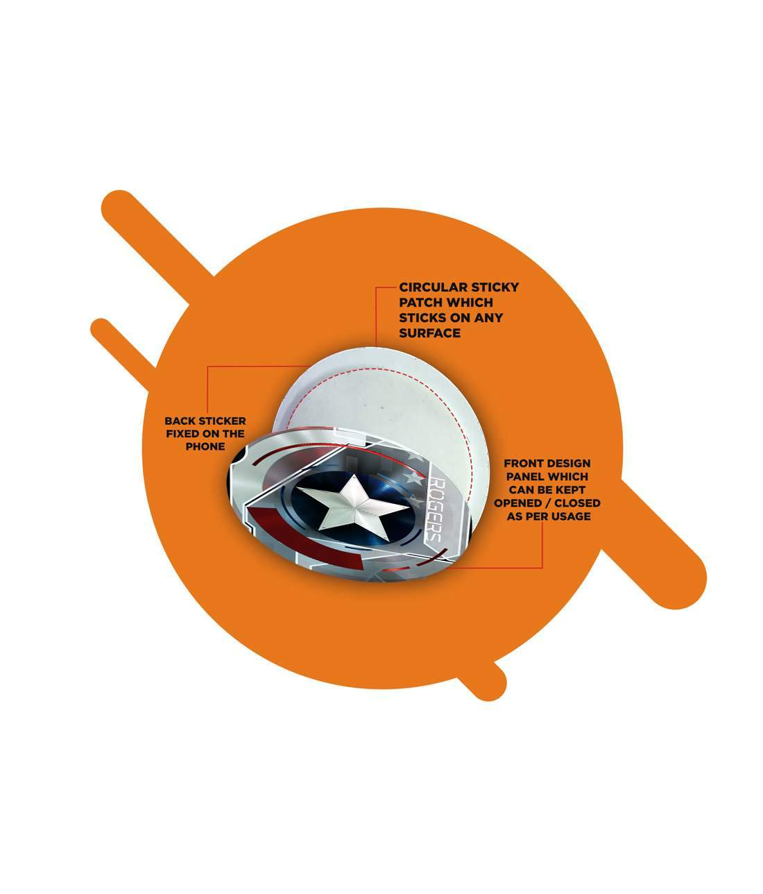 Cap Am Rogers - Macmerise Sticky Pad