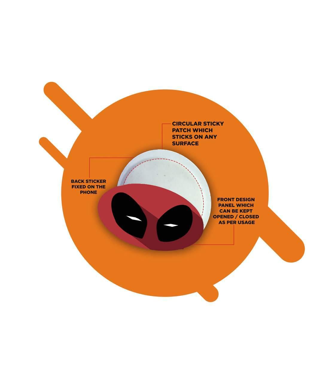 Minimalistic Deadpool - Macmerise Sticky Pad