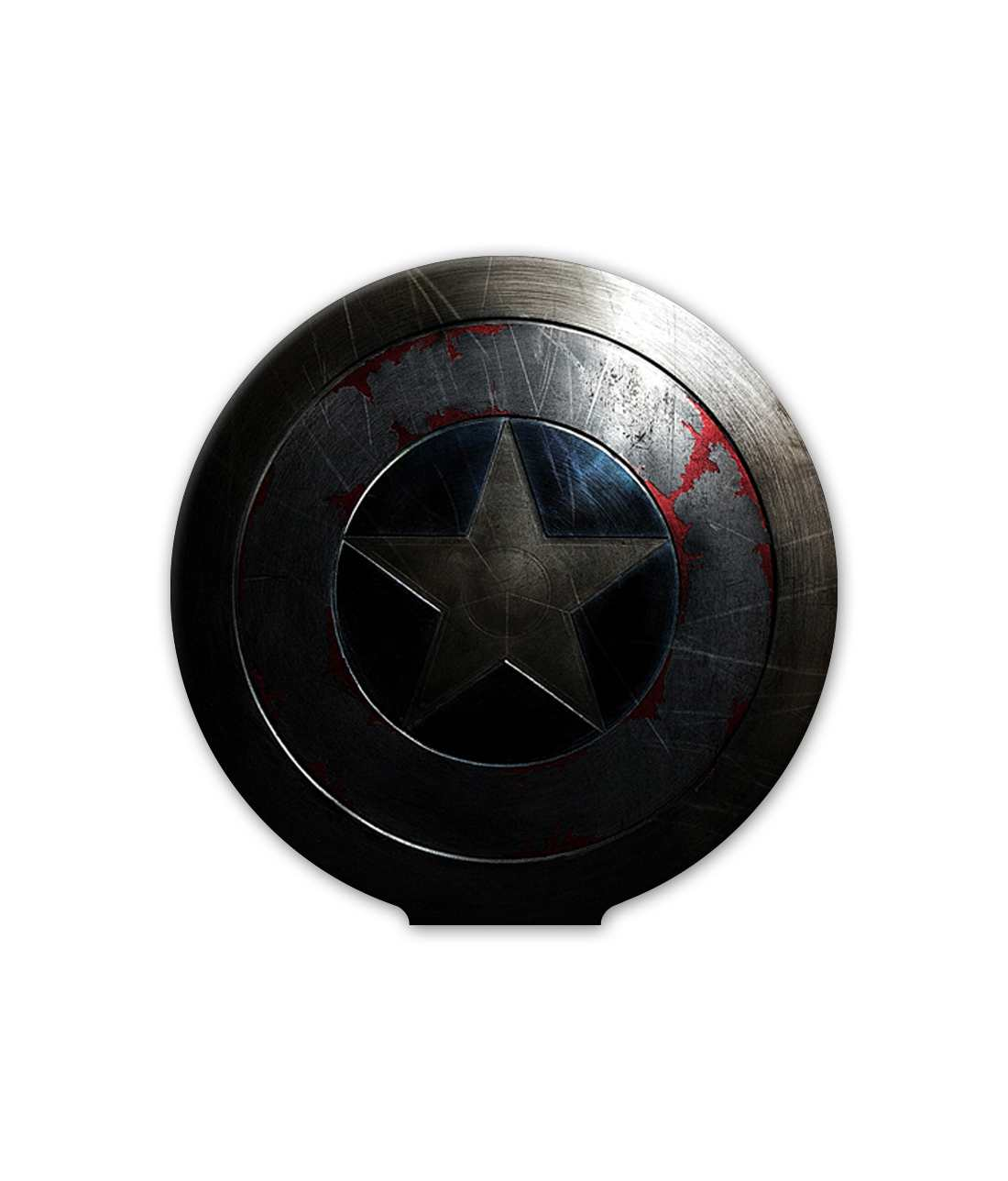 Rusted Captains Shield - Macmerise Sticky Pad