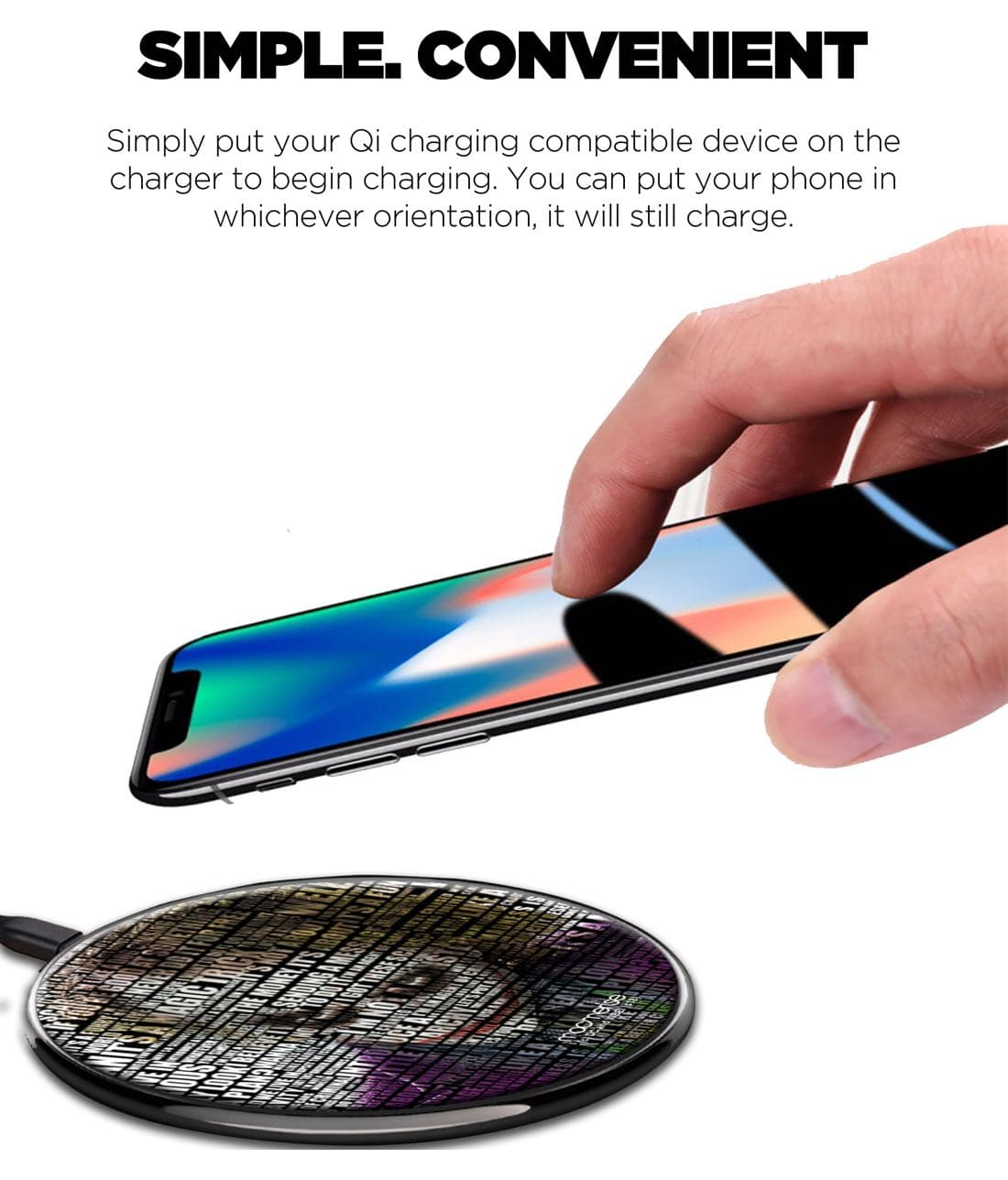 Joker Quotes - Qi Compatible Pro Wireless Charger