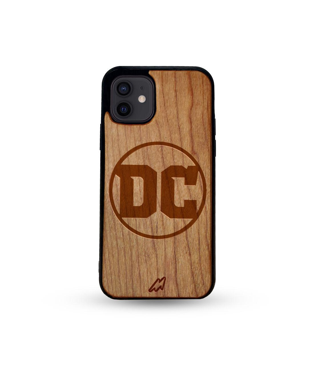 DC Comics - Honey Maple Wooden Phone Case for iPhone 12