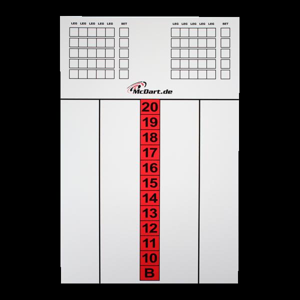 McDart Score Board Groß 60 X 40cm