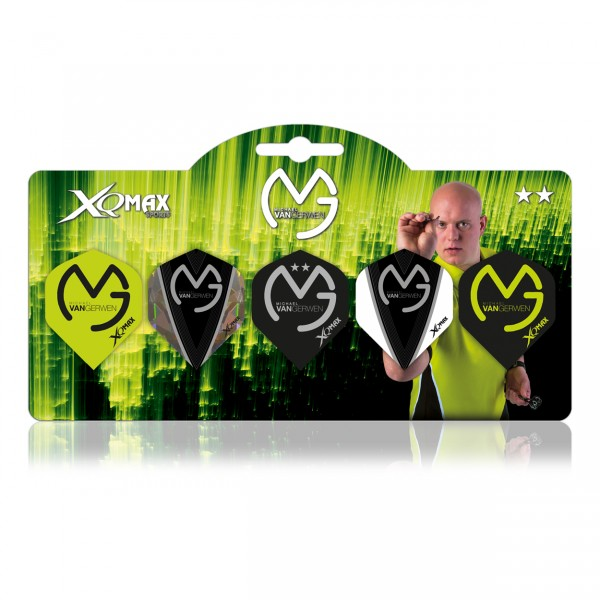 XQ Max Michael van Gerwen Flight Multipack 2018