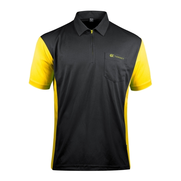 Target Coolplay Hybrid 3 Dartshirt Black/Yellow