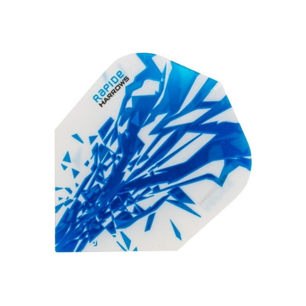 Harrows Rapide Flights - Hellblau/Weiß