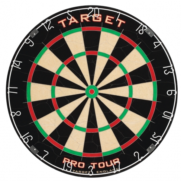 Target Pro Tour Dartboard + McDart Dartboard Surround