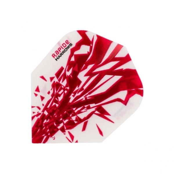 Harrows Rapide Flights - Rot/Weiß