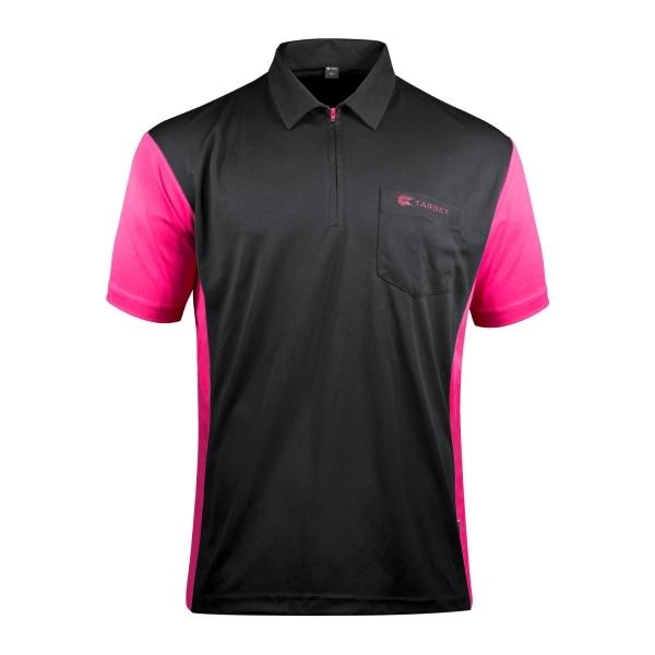 Target Coolplay Hybrid 3 Dartshirt Black/Dark Pink