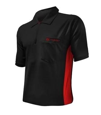 Coolplay Dartshirt schwarz/rot