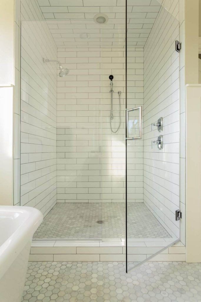 Budget Bathroom Upgrade Frameless Shower Doors