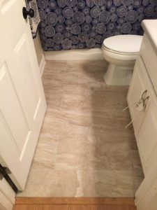 Hall Bath Tile