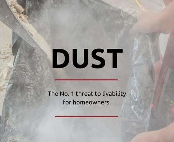 Liveable Remodeling Dust Control - remodeling - buildclean