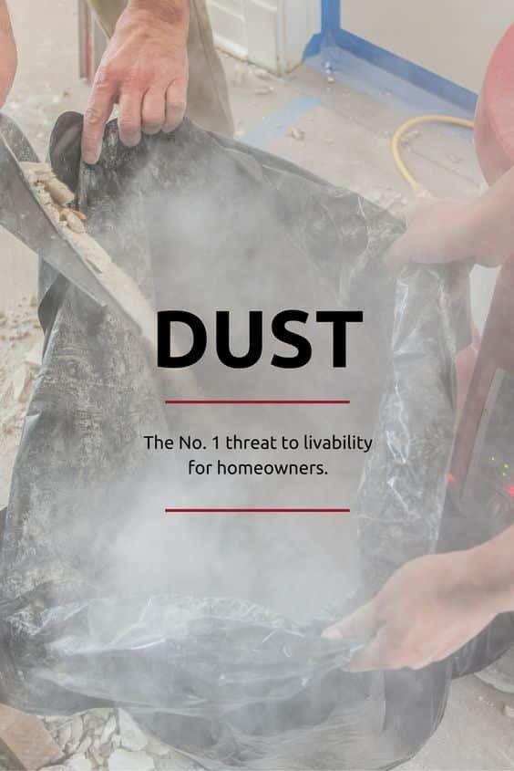 Dust Control - remodeling - buildclean