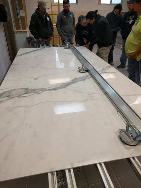 Cutting a 5x10 porcelain panel