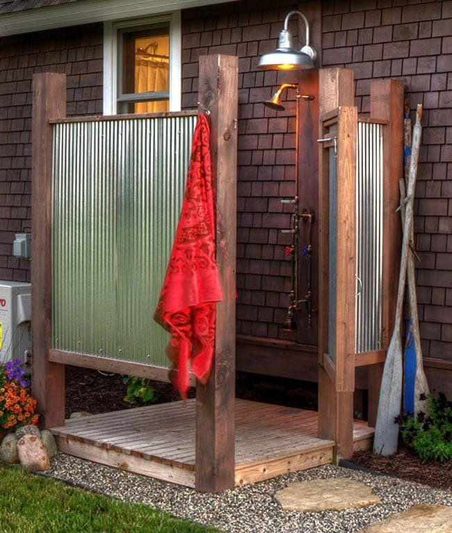 Outdoor Shower Rustic Tallahassee