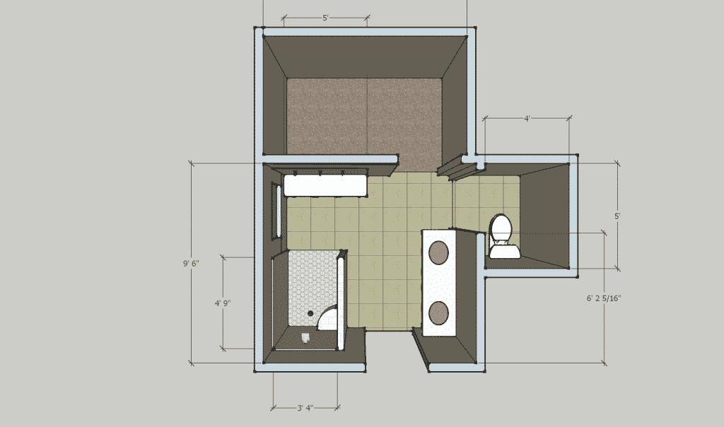 Creating A Craftman Style Bathroom In Southwood