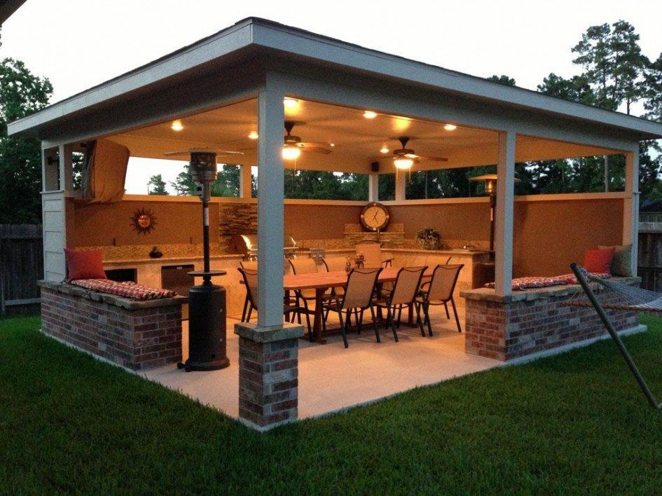 Outdoor Kitchen Lighting Tallahassee