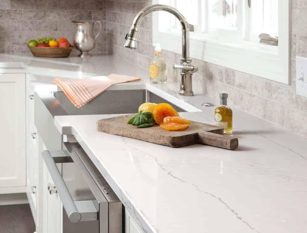 quartz kitchen counter tops