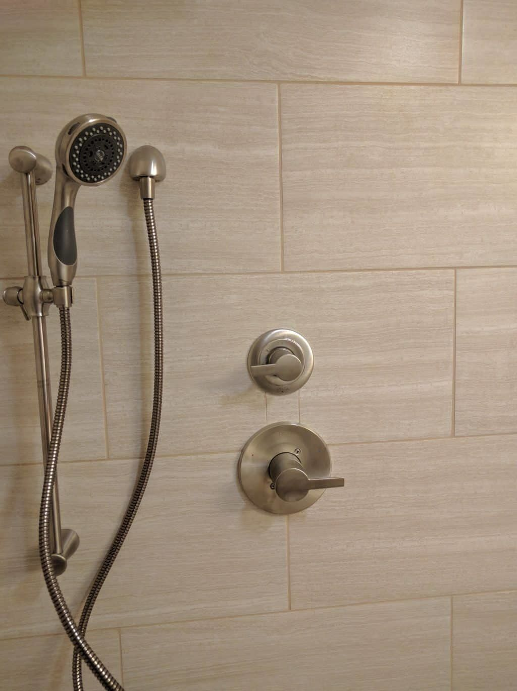 Delta Shower controls