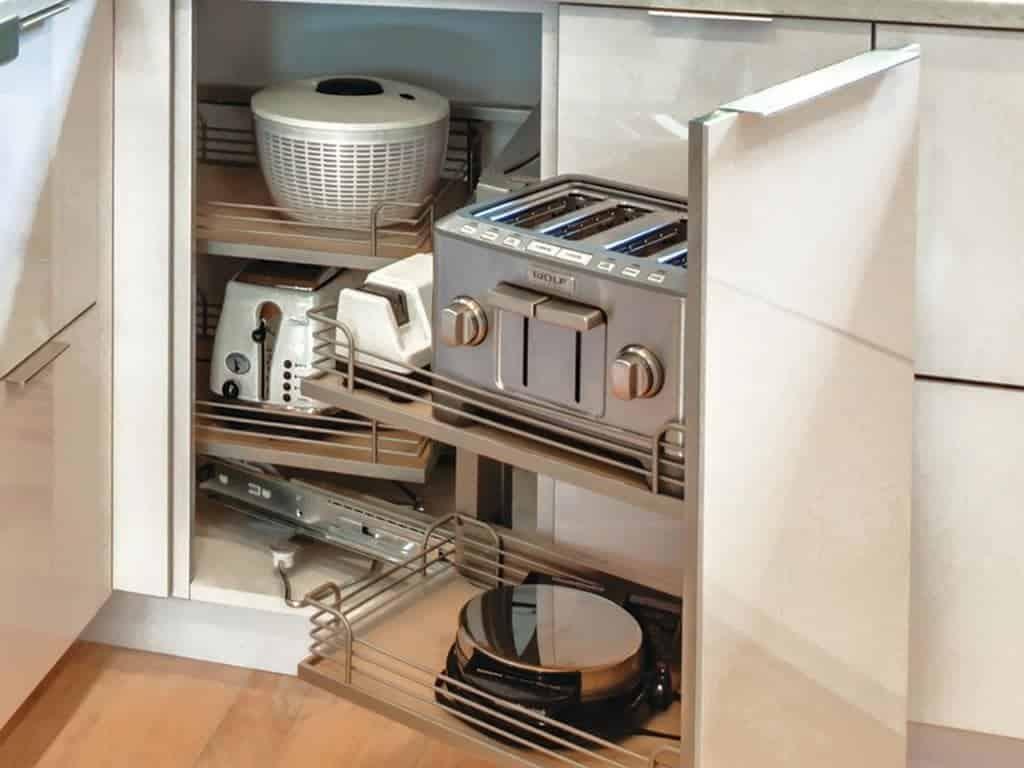 Kitchen corner cabinets clever kitchen storage solutions tallahassee fl