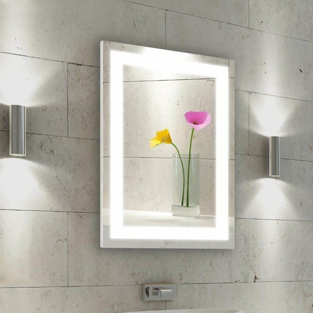 LED Mirror Bathroom Design Ideas