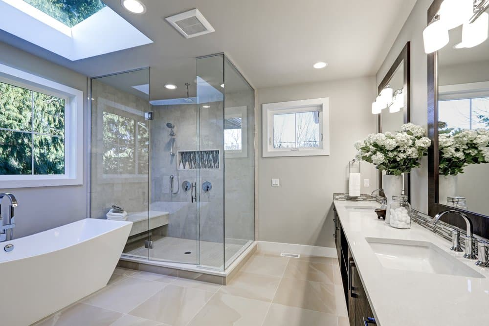 Recessed Lighting In The Bathroom