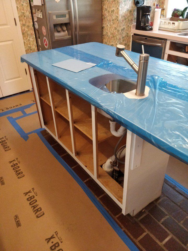 Cabinet reface