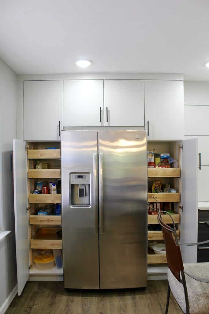 Add Pantry Storage To Your Kitchen With Tall Cabinets