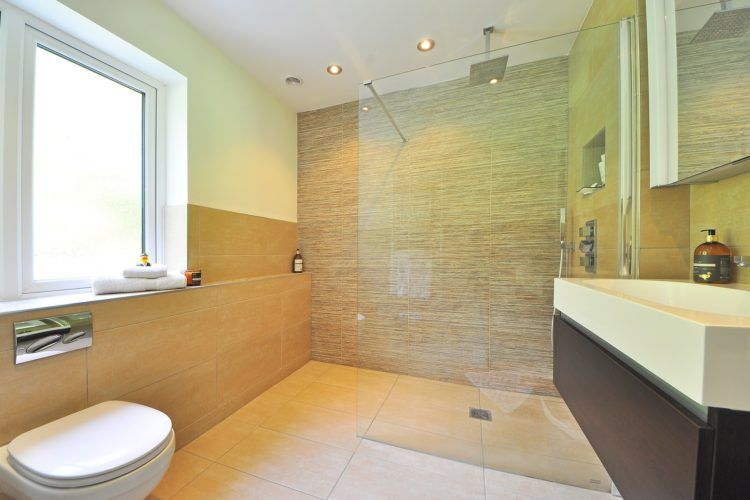 Walk in shower Aging In Place Bathroom Design