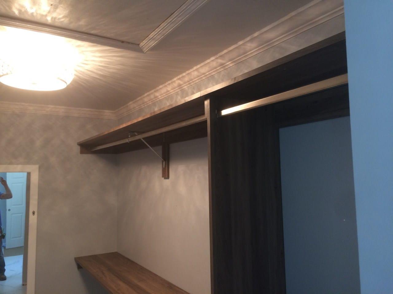 Closet left side