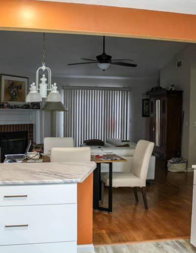 Kitchen remodel Bellmont Porto Cabinets