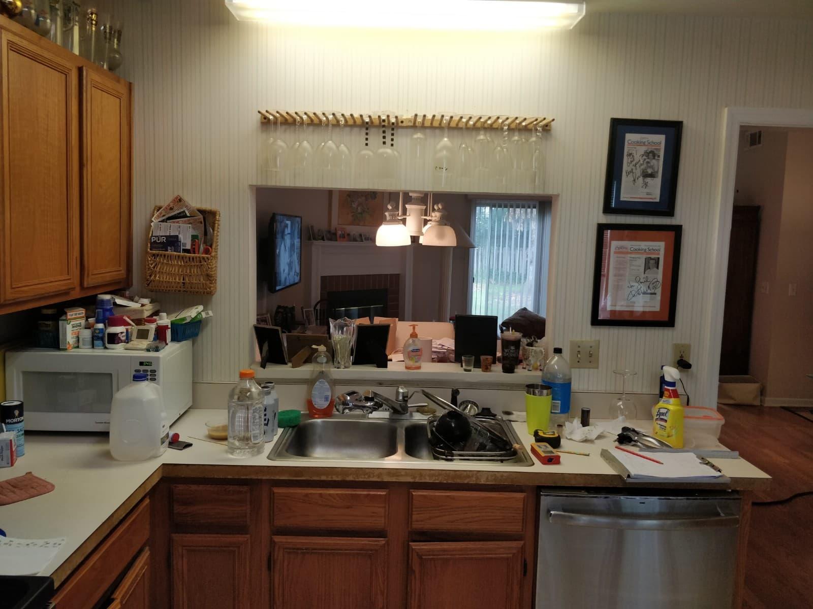 Kitchen remodel backsplash tile