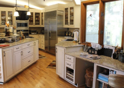 Betton Hills Large Kitchen Cabinet Reface- $34,000