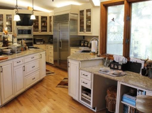 Betton Hills Large Kitchen Cabinet Reface- $34,000