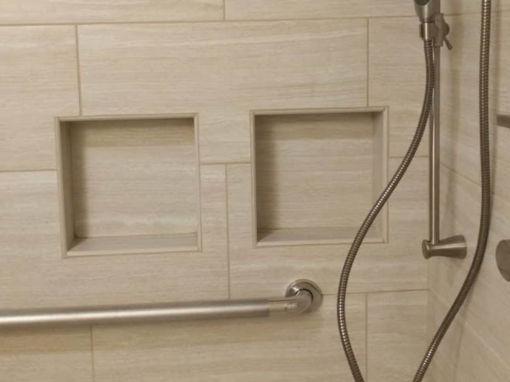Barrier Free Shower Remodel- $42,500