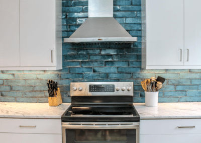 Wonderful Backsplash Choice in Killearn Kitchen Remodel- $46,500