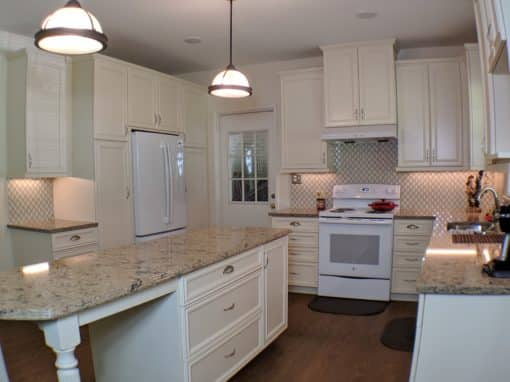 Adding an Island To An Older Kitchen in Harriman Park- $63,000