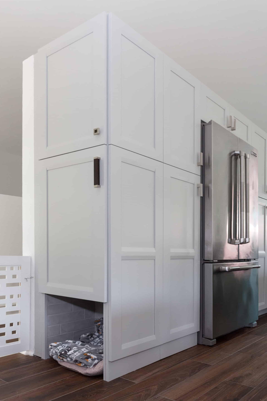 Pet Cubby Kitchen Renovation