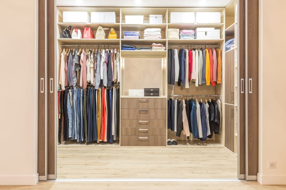 Closet Lighting and Storage
