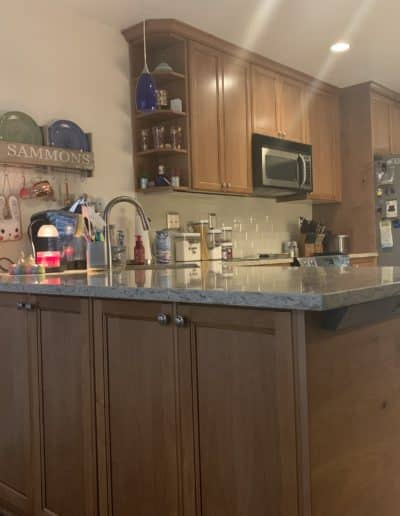 Wood Cabinets Remodel