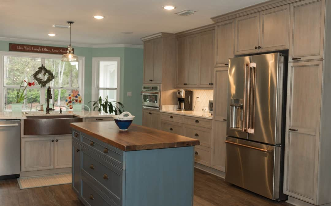 Design and Cabinetry for Kitchen and Master Bath